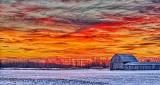 Barn At Sunrise P1290653-9