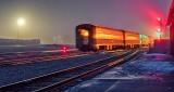 The 6:22 Torontobound In A Foggy Dawn P1300043-5