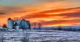 Barn At Sunrise P1300399-405