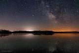 Milky Way Over Irish Creek P1300431