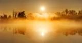 Misty Foggy Rideau Canal Sunrise P1300656-62