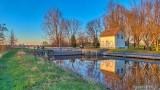 Edmonds Lock At Sunrise P1300814-20