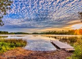 Otter Lake At Sunrise DSCN25470-2