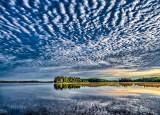 Otter Lake Beneath A Dappled Sky DSCN25500-2