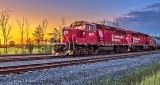 CP Engine 2277 At Sunrise DSCN25936-8
