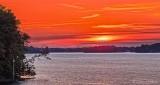 Lower Rideau Lake Clouded Sunrise DSCN27379-84