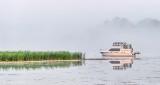 Anchored Boat At Sunrise P1320454-6