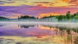 Otter Lake At Sunrise P1330569-71