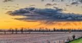 Precipitating Cloud At Sunrise P1350049-55