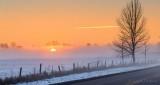 Sunrise Through Ground Fog P1360185-91