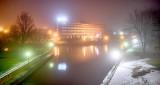 Rideau Canal On A Foggy Night P1360368-74