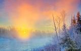 Misty Rideau River Sunrise P1040759-65
