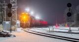 CP 8912 Arriving In Snowfall P1370263-9