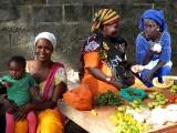 marché, market à Djembering, Casamance, Sénégal