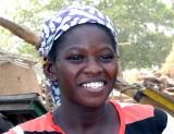 femme avec cicatrices de sa tribu, woman with tribal scars, Sénégal