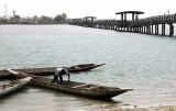 pont par Fadiouth, bridge to Fadiouth, Sénégal
