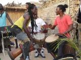 djembé musiciens, musicians, Sénégal