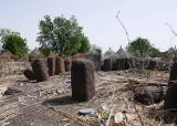 Douba, monolithique cercle de pierre, monolithic stone circle, Sénégal