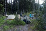 And camp at Silver Pass