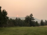 And a Smoky Sunrise in Winthrop