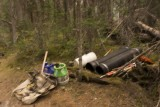 Trail Crew Tools at camp