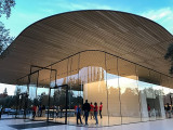 The new Apple Park Visitor Center
