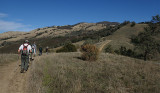 Starting our hike up to the top of Mount Diablo