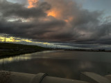 Sunset at the Sunnyvale Baylands