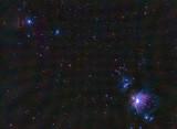 Flame and Orion Nebulas