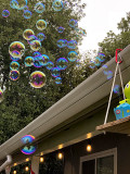 Birthday party bubbles
