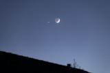 Tonight's Moon and Venus Conjuction