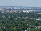 The view of D.C. from the George Washington Masonic National Memorial