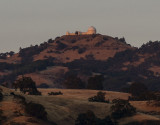 Lick Observatory at sunset