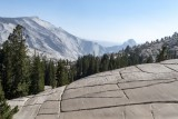 Clouds Rest and Half Dome from Olmsted Point - Yosemite NP
