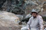Moi, au canyon de Yoliin