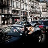 Paris, lumière et traffic