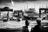 sur le port de Sanary