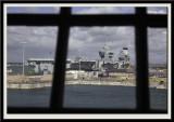 HMS Queen Elizabeth from HMS Victory
