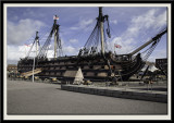 HMS Victory in No. 2 Dry Dock