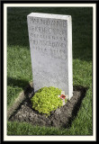 One of the Few German Graves