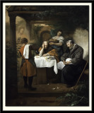 The Supper at Emmaus, 1665-68