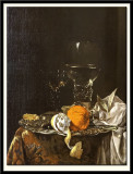 Still Life with Fruit and Wine Glasses on a Silver Plate, 1659-1660