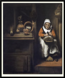 The Old Lacemaker, 1655