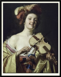 Woman Playing the Violin, 1626