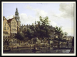 View of Oudezijds Voorburgwal with the Ould Kerk in Amsterdam, 1670