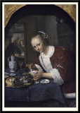 Girl Eating Oysters, 1658-1660