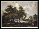 Wooded Landscape with Cottages, 1665