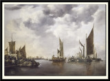 Seascape with Ships, 1660