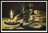 Still Life with Lighted Candle, 1627