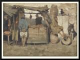 Butchery in Tangiers,1882